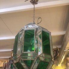 Segunda Mano: LAMPARA CRISTAL ESTILO MORUNO. Lote 138002821