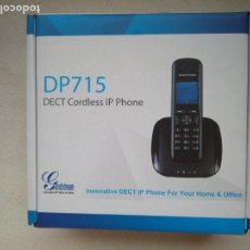 Segunda Mano: TELÉFONO INALÁMBRICO GRANDSTREAM GS-DP715 VOIP DECT IP. Lote 138767938