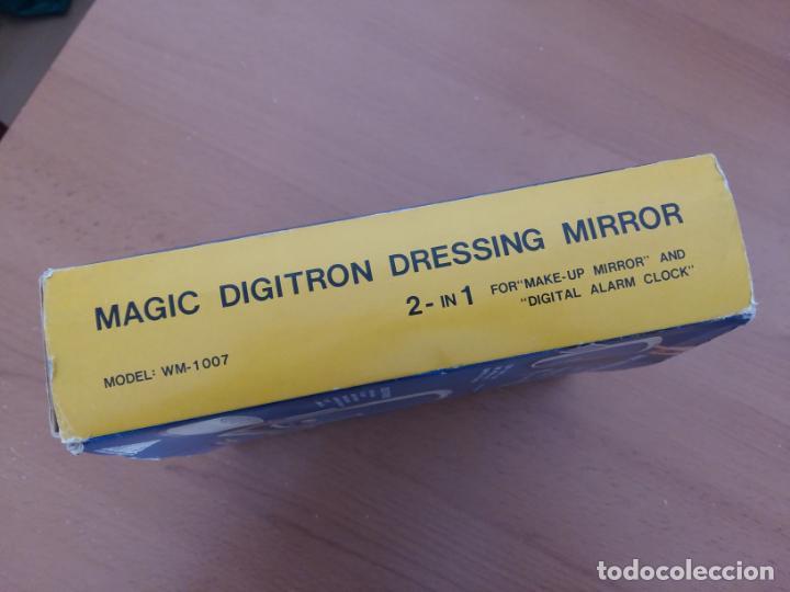 Segunda Mano: Espejo reloj - Magic Digitron Dressing Mirror - Winner Electron - Años 80 - Foto 3 - 138856434
