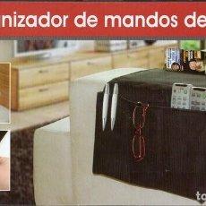 Segunda Mano: ORGANIZADOR DE MANDOS DE SOFÁ. 4 BOLSILLOS.. Lote 139151730