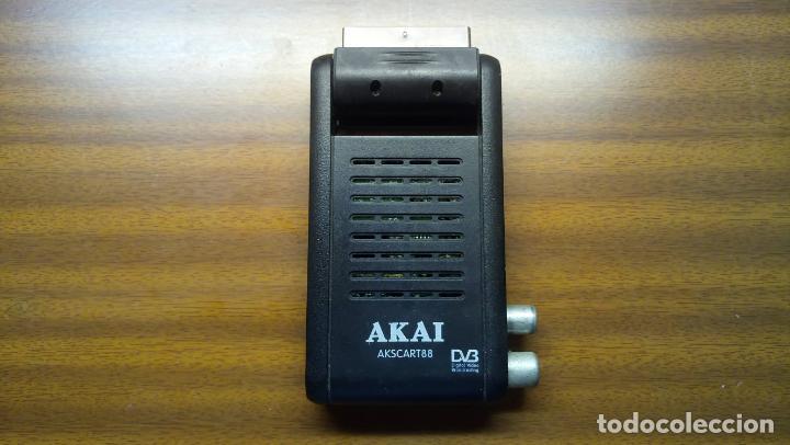RECEPTOR DE TDT - AKAI - MINI SCART (Segunda Mano - Artículos de electrónica)