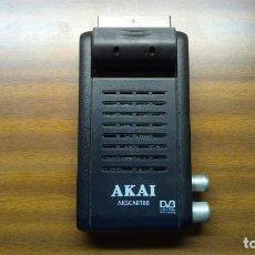 Segunda Mano: RECEPTOR DE TDT - AKAI - MINI SCART. Lote 139153878