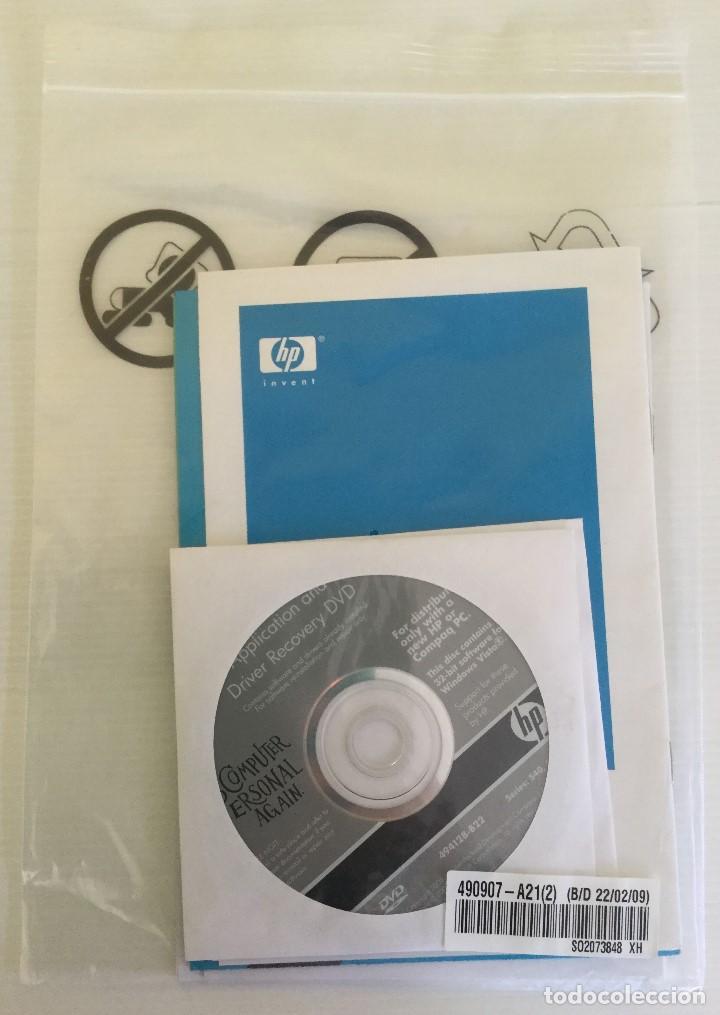 DVD WINDOWS VISTA + DRIVER RECOVERY HP SERIES 540, 550 (Segunda Mano - Artículos de electrónica)