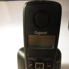Segunda Mano: TELEFONO INALAMBRICO GIGASET A120 MADE IN GERMANY CON SU CABLE Y ADAPTADOR DE CORRIENTE. Lote 139737102