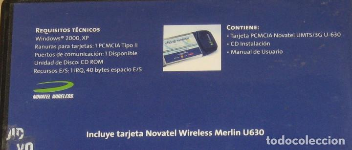 DRIVER: NOVATEL WIRELESS MERLIN U630