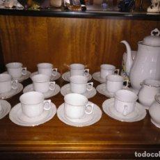 Segunda Mano: JUEGO DE CAFÉ 12 SERVICIOS. Lote 140832758