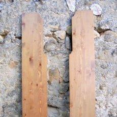 Segunda Mano: PANELES LATERALES DE ESTANTERÍA EN PINO MACIZO. Lote 141587622