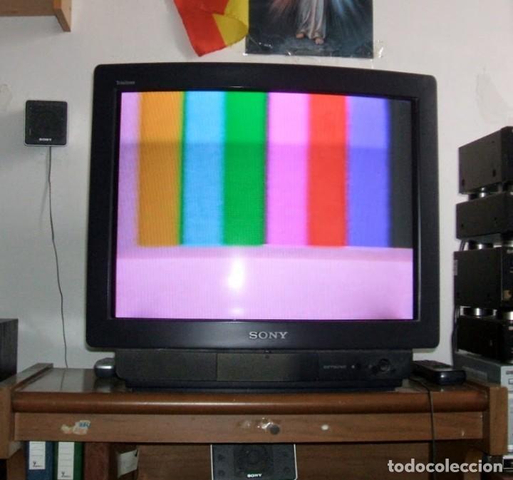 TELEVISOR SONY KV-M2540E.- HI BLACK TRINITRON EN FUNCIONAMIENTO. (Segunda Mano - Artículos de electrónica)