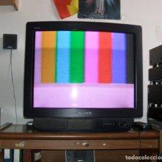 Segunda Mano: TELEVISOR SONY KV-M2540E.- HI BLACK TRINITRON EN FUNCIONAMIENTO.. Lote 141660182