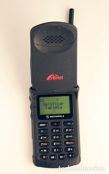 MOTOROLA MG1. TELÉFONO MÓVIL RETRO. (Segunda Mano - Artículos de electrónica)
