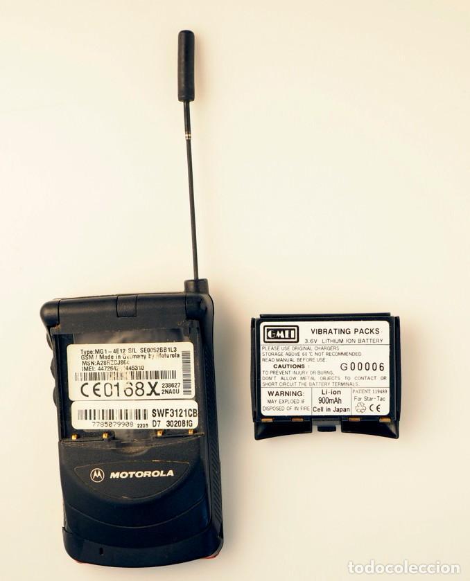 Segunda Mano: Motorola MG1. Teléfono móvil retro. - Foto 5 - 141734406