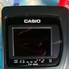 Segunda Mano - TV portátil casio tv-600. Funciona - 142324978