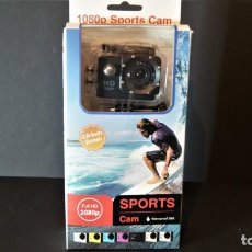Segunda Mano: VIDEO CAMARA SPORT CAM FULL HD NUEVA. Lote 142332902