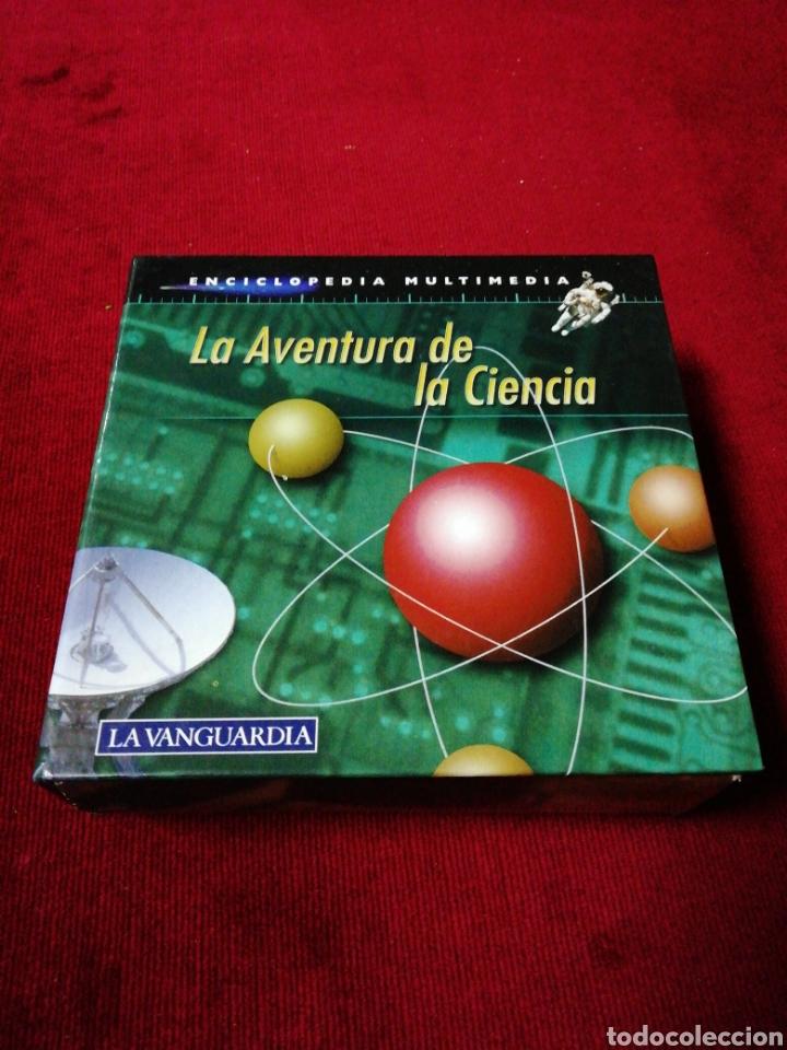 LA AVENTURA DE LA CIENCIA. ENCICLOPEDIA MULTIMÈDIA. 12 CD ROM. COLECCIÓN LA VANGUARDIA. (Segunda Mano - Otros)