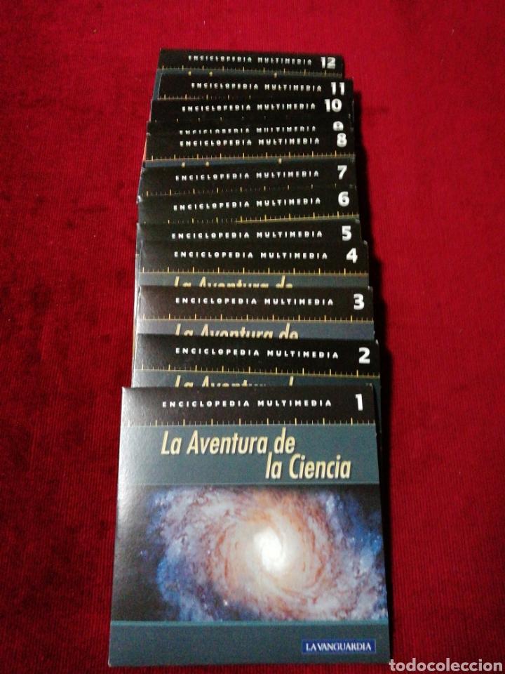 Segunda Mano: La aventura de la ciencia. Enciclopedia multimèdia. 12 CD Rom. Colección La Vanguardia. - Foto 2 - 142424880