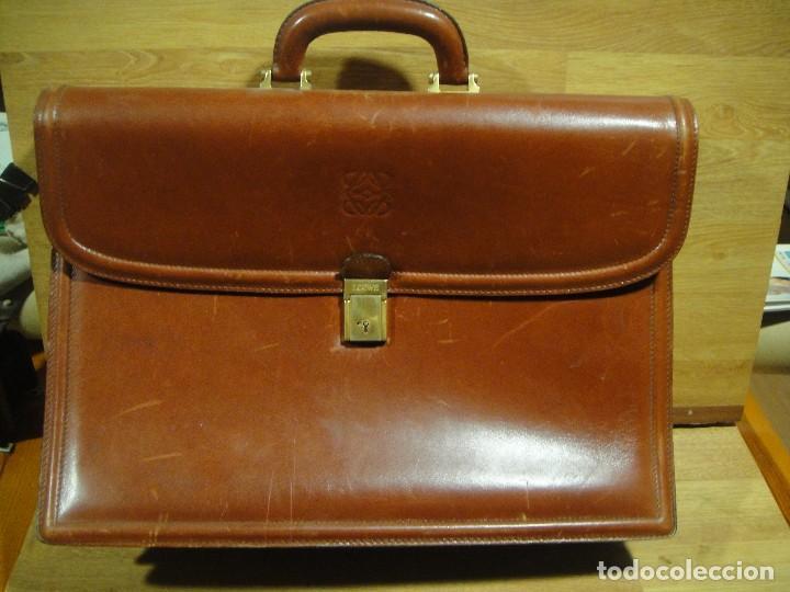 Motel Subir y bajar Conectado  cartera maletin porta documentos loewe - origin - Comprar en todocoleccion  - 142808934