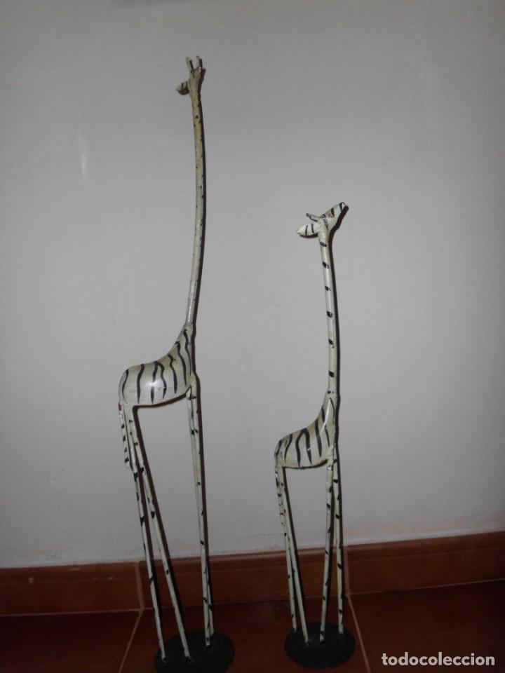 PAREJA DE JIRAFA DE PLANCHA (Segunda Mano - Hogar y decoración)