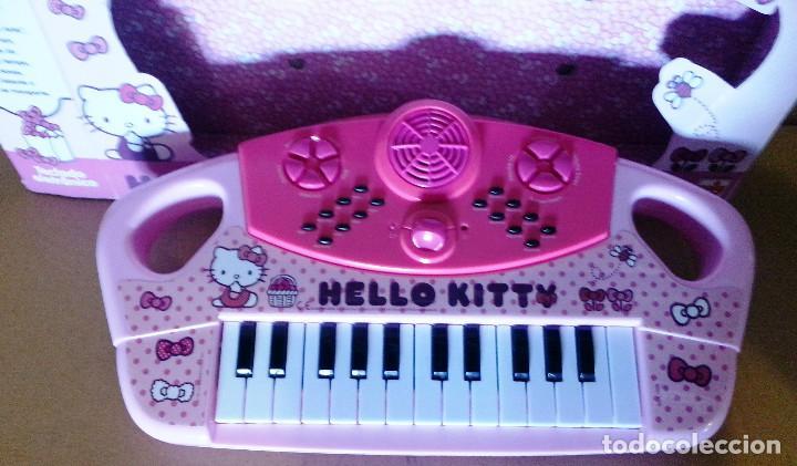 TECLADO ELECTRONICO HELLO KITTY.. (Segunda Mano - Artículos de electrónica)