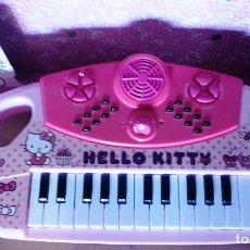 Segunda Mano: TECLADO ELECTRONICO HELLO KITTY... Lote 143223466