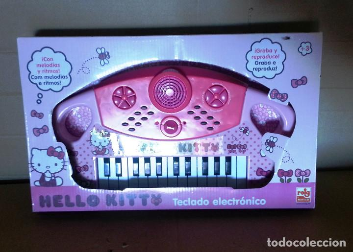 Segunda Mano: TECLADO ELECTRONICO HELLO KITTY.. - Foto 2 - 143223466
