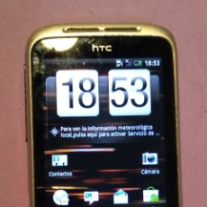 Segunda Mano: MÓVIL HTC WILDFIRE SA-ORANGE. Lote 143480648