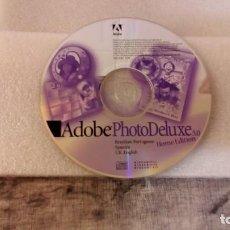 Segunda Mano: ADOBE PHOTO DELUXE 3.0 - HOME EDITION - 1996/1998. Lote 143544638