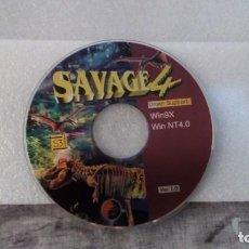 Segunda Mano: SAVAGE 4 - DRIVER SUPPORT: WIN9X / WIN NT 4.0 - VER. 1.0. Lote 143545098