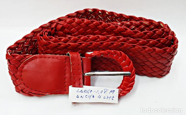 Segunda Mano: Lote de 10 Cinturones surtidos Vintage de señora. - Foto 5 - 143792278