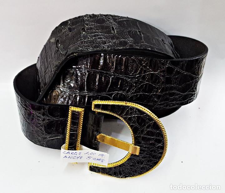 Segunda Mano: Lote de 10 Cinturones surtidos Vintage de señora. - Foto 7 - 143792278