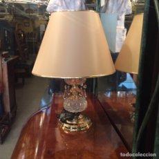 Segunda Mano: LAMPARA PEQUEÑA CRISTAL. Lote 143970556