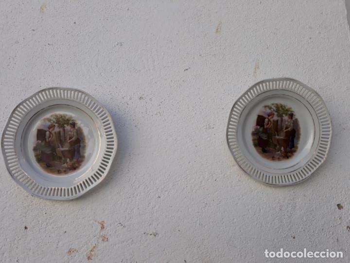 PAREJAS DE PLATOS PORCELANA (Segunda Mano - Hogar y decoración)