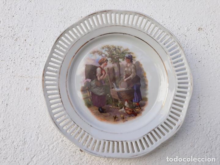 Segunda Mano: parejas de platos porcelana - Foto 2 - 144009034