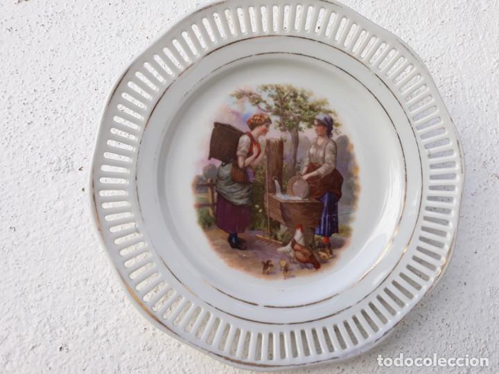Segunda Mano: parejas de platos porcelana - Foto 3 - 144009034