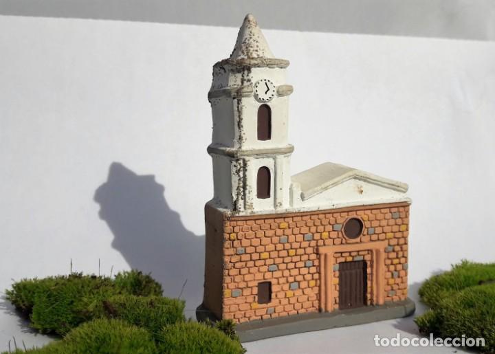Segunda Mano: ARTESANÍA: Iglesia de PALERMO, departamento de Huila. (Colombia). Maqueta realizada en yeso. - Foto 2 - 144047870