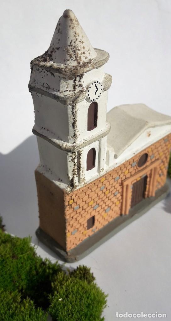 Segunda Mano: ARTESANÍA: Iglesia de PALERMO, departamento de Huila. (Colombia). Maqueta realizada en yeso. - Foto 3 - 144047870