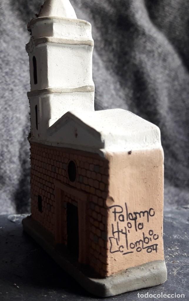 Segunda Mano: ARTESANÍA: Iglesia de PALERMO, departamento de Huila. (Colombia). Maqueta realizada en yeso. - Foto 5 - 144047870