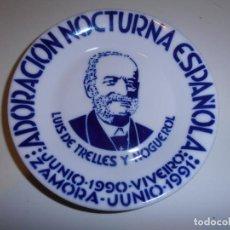 Segunda Mano: PLATO SARGADELOS - ADORACION NOCTURNA ESPAÑOLA - LUIS DE TRELLES Y NOGUEROL 1990 - 91. Lote 144889158