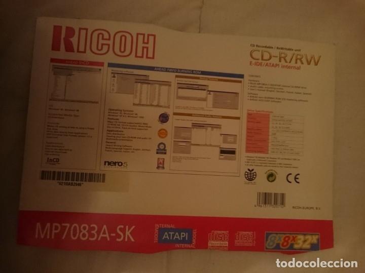 Segunda Mano: GRABADORA CD R RW RICOH - RICOH R RW CD RECORDER - Foto 2 - 31827242