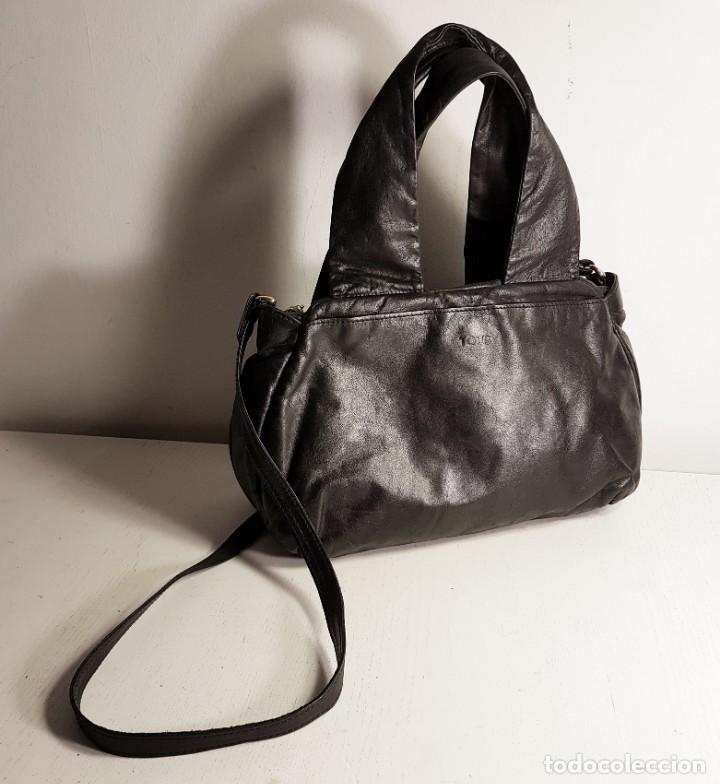 Segunda Mano: Bolso bandolera TOUS. Piel genuina (napa) negra, en excelente estado. - Foto 3 - 145759226