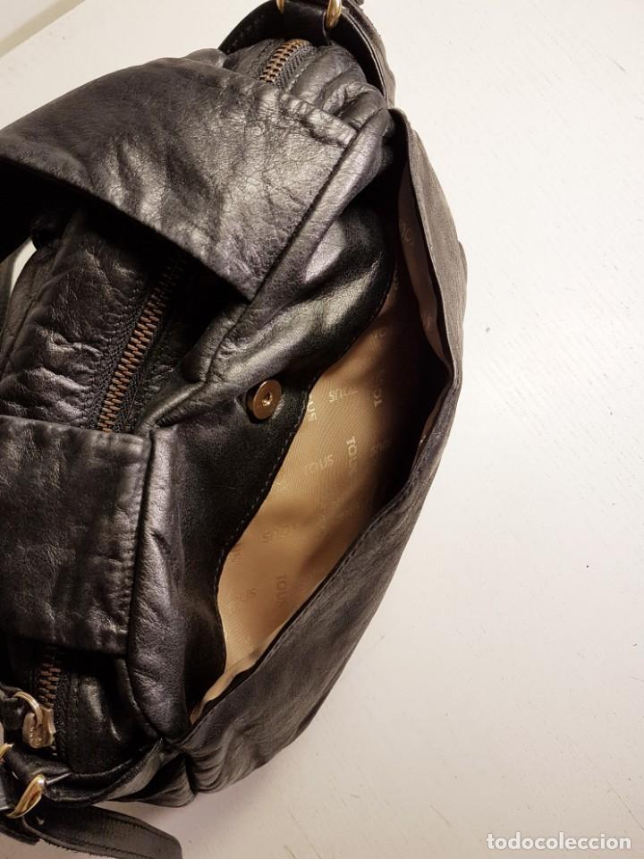 Segunda Mano: Bolso bandolera TOUS. Piel genuina (napa) negra, en excelente estado. - Foto 7 - 145759226