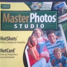 Segunda Mano: PROGRAMA ORDENADOR FOTOGRAFIA DIGITAL MASTER PHOTO STUDIO IMSI. Lote 145776654