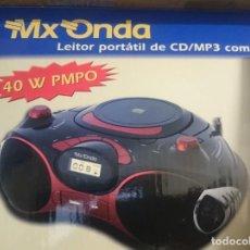 Segunda Mano: RADIO Y LECTOR CDS MP3 CON ENTRADA USB -NUEVO NUNCA USADO -VER DETALLES EN LAS FOTOS. Lote 145778478