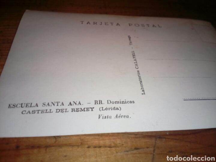 Segunda Mano: Tarjeta postal escuela santa ana castell del remey (lleide) - Foto 2 - 146318546