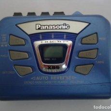 Segunda Mano: RADIO CASSETE STEREO MARCA PANASONIC, MODELO RQ-CR15V . --- 3. Lote 146498982