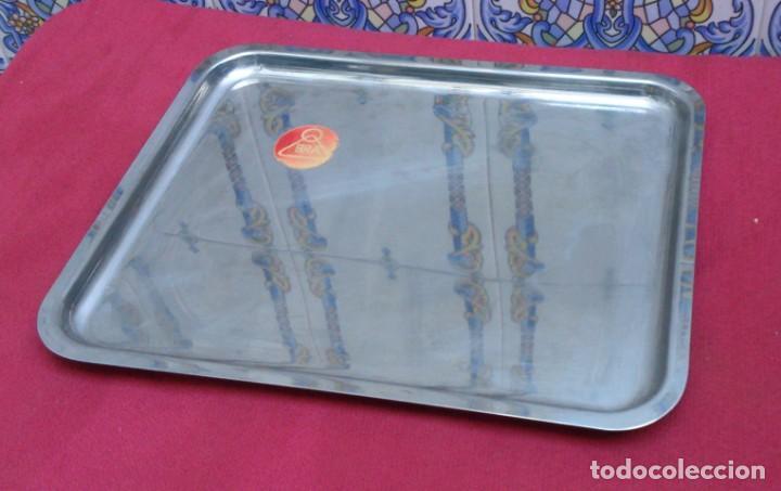 BANDEJA ACERO INOXIDABLE BRA 32X26 CM (Segunda Mano - Hogar y decoración)