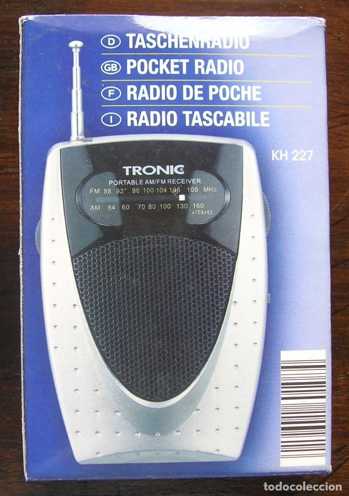 RADIO TRONIC KH 227. FUNCIONA (Segunda Mano - Artículos de electrónica)