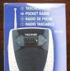 Segunda Mano: RADIO TRONIC KH 227. FUNCIONA. Lote 147185638