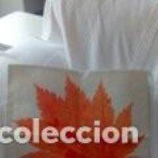 Segunda Mano: PACK 5 FUNDAS PARA COJIN ESTAMPADO OTOÑAL. DE LINO Y ALGODON 45X45.. Lote 147456178