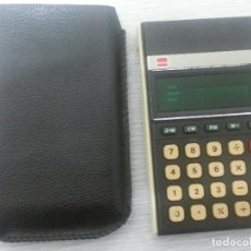 Segunda Mano: CALCULADORA SHARP ELSI MATE - ELECTRONIC CALCULATOR EL-8131. Lote 147481082
