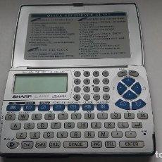 Segunda Mano: ORDENADOR SHARP COMPUTER LINK EL-6890S 256KB. TELÉFONO. EMAIL. INTERNET. CALCULADORA. RELOJ.. Lote 147489026